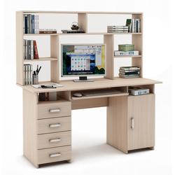 Письменный стол Лайт-8К с надстройкой