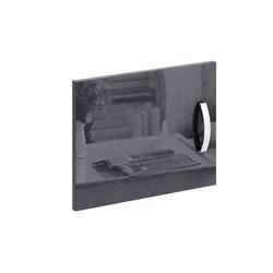 Дверка для стеллажей Либерти Глянец серый