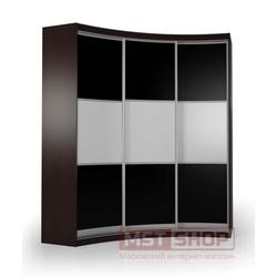 Радиусный шкаф - купе«Мебелайн – 19»