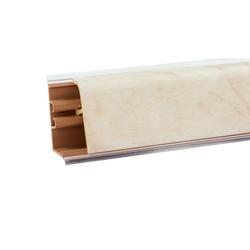 Плинтус со вставкой под цвет столешницы