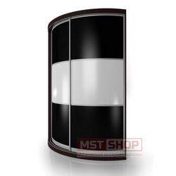 Радиусный Шкаф-купе Мебелайн-15