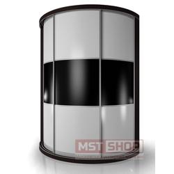 Радиусный шкаф - купе «Мебелайн – 10»