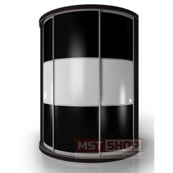 Радиусный Шкаф-купе Мебелайн-11