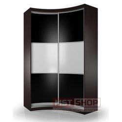 Радиусный шкаф - купе «Мебелайн – 9»