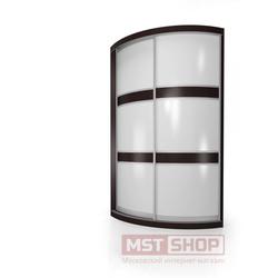 Радиусный шкаф - купе «Мебелайн – 1»