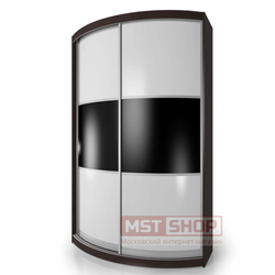 Радиусный шкаф-купе Мебелайн-3