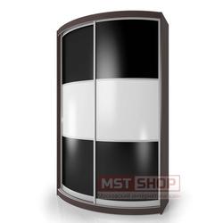 Радиусный шкаф - купе «Мебелайн – 4»
