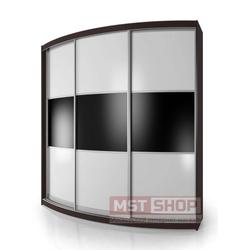 Радиусный Шкаф-купе Мебелайн-5