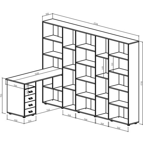 Компьютерный стол Оксфорд-7