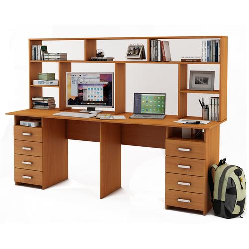 Письменный стол Лайт-15 с надстройкой