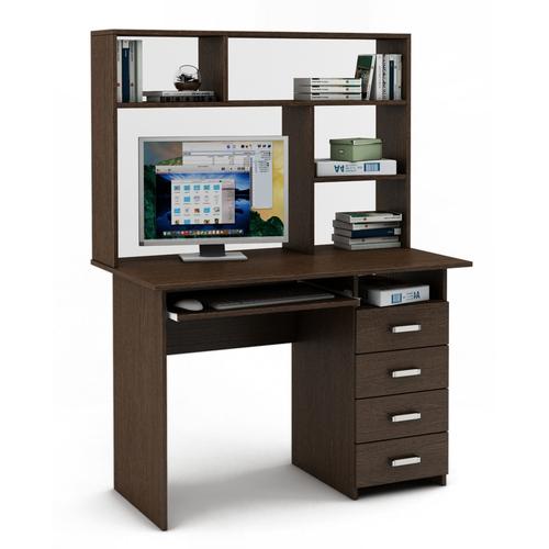 Письменный стол Лайт-5К с надстройкой