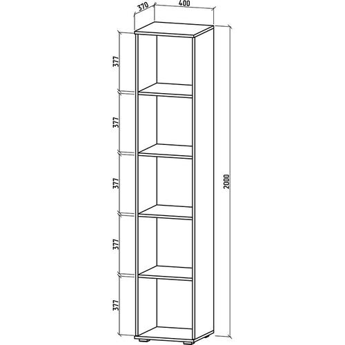 Шкаф Тунис-2 бельевой