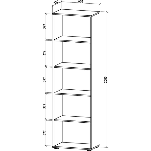 Шкаф Тунис-3 бельевой