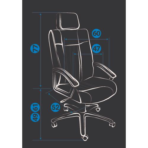 Кресло Оксфорд / OXFORD хром