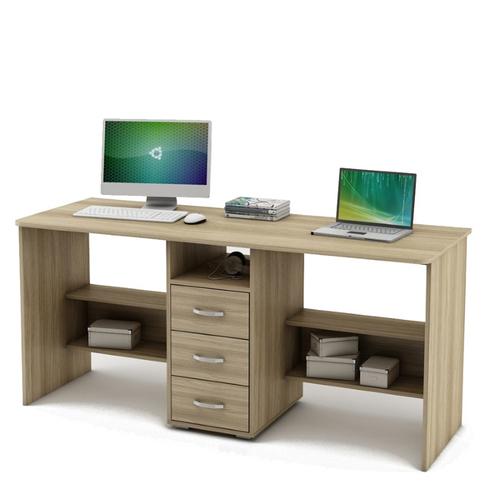 Письменный стол для двоих Форест-8